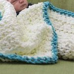 Easy Beginner Baby Blanket
