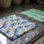 Easy Bobble Stitch Hot Pad - Colorful Christine