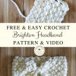 Easy Crochet Headband Pattern and Video Tutorial - Pretty Darn Adorable