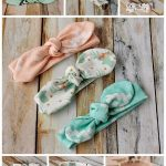 Easy DIY baby headband pattern free sewing - Knot Bow Headband Pattern and Tutorial