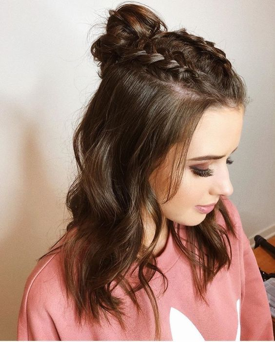 Easy Hairstyles for Meduim Length Hair For This Season – Page 16 of 20