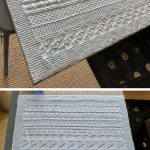 Easy Knit & Purl Baby Blanket - Free Pattern