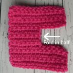 Easy Peasy Crochet Baby Booties