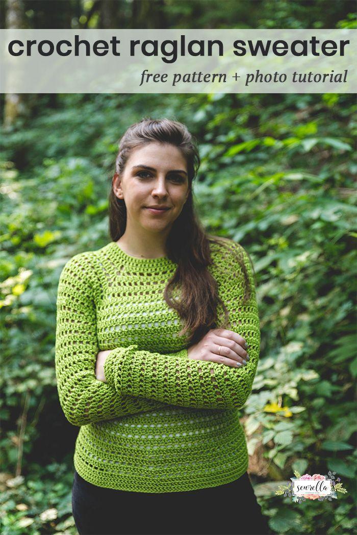 Easy Pullover Sweater – Free Crochet Pattern