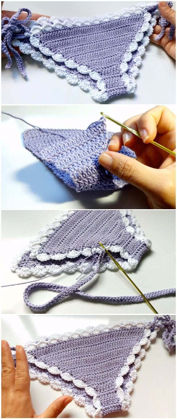 Easy To Crochet Beautiful Woman's Bikini