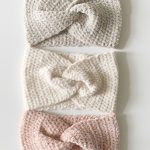 Easy Velvet Twist Headband
