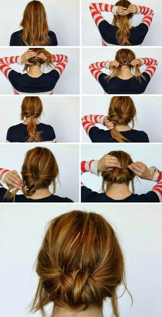 Easy hairstyle for every day – 3 styles of hairstyles for every day