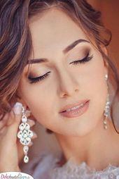 Ein Hauch von Make-up für die Hochzeit   – Haar und beauty – #Beauty #die #ein …