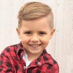 Einfache Kinder Frisuren Jungs