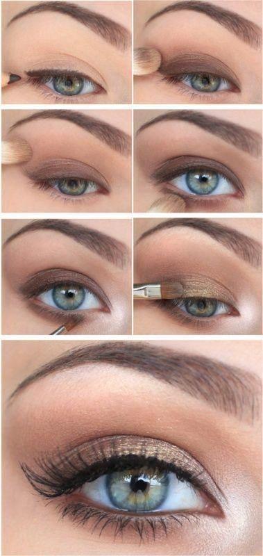 Einfaches Natural Eye Makeup Tutorial #naturaleyemakeup