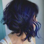 Einzigartige Dunkelblau Frisuren Blau Schwarz Frisur Ideen Blaue … – Damen H...