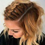 Einzigartige einfache Hochsteckfrisuren für mittellanges glattes Haar - FİTNESS WORKOUTS