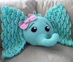 Elefanten Kissen häkeln #crochetelephantpattern Elefanten Kissen häkeln #muste...