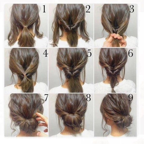 Elegant messy updo for long straight hair – http://wolfpack-toptrendspint.blackjumpsuitoutfit.tk/