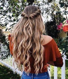 Elegante süße Frisuren für die Schule für mittlere Haare mit Side Pony – Pin Zeit