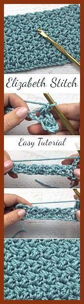 Elizabeth Stitch Easy Tutorial für Anfänger + Einfache & kostenlose Videoanlei…