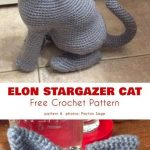 Elon Stargazer Cat Free Crochet Pattern This beautiful animal is a fun project to make, both as a ch
