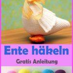 Ente häkeln – kostenlose & einfache Anleitung