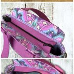 Epiphany Purse sewing pattern. I love all the details on this handbag sewing pat...