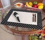 Erfahren Sie, wie Sie süße Tischdecken für den Tisch machen ~ Basteln