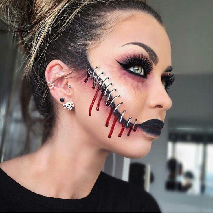 #Ergebnis #Halloween #Fantasie #Bild #Makeup #Ideen    – gesic
