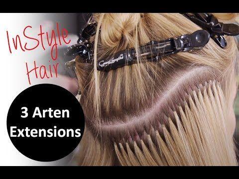 Extensions: InStyle testet 3 Arten der Haarverlängerung – YouTube