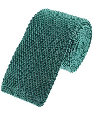 FLATSEVEN Solid Skinny Knit Tie  www.yourneckties….