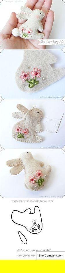 Fabric Crafts Easy DIY Felt Crafts Felt Crafts Patterns and Felt Crafts For East…