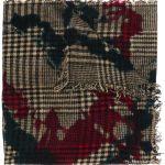 Faliero Sarti knit scarf - Black