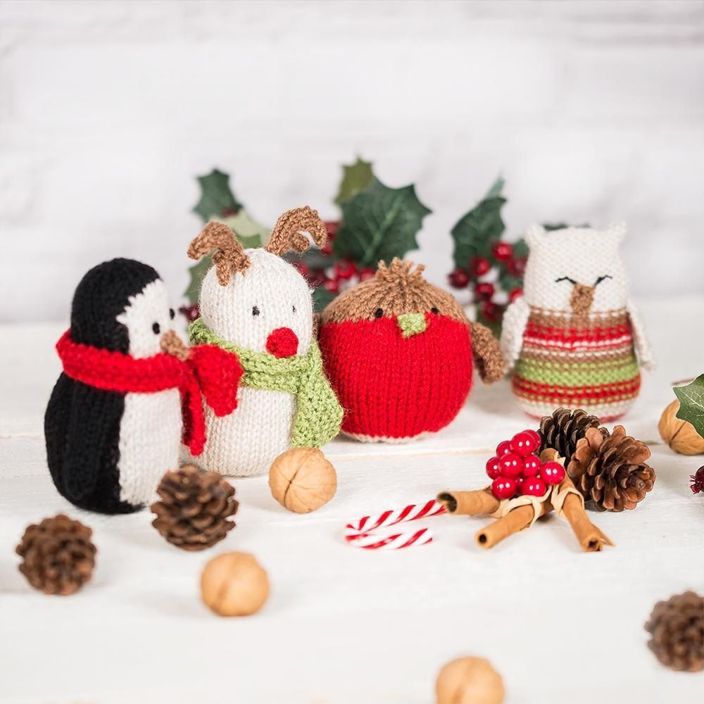 Festive Creatures Knitting pattern by Welsh Girl Knits