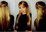 Flechte halboffen seitlich Frisuren halboffen glattes Haar ... - Flechtfris ... ... ,  #Flech...