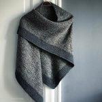 Flickering Shawl pattern by Camilla Vad
