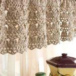 Free Crochet Curtain Patterns - Knitting Bordado