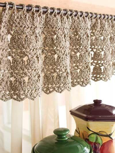 Free Crochet Curtain Patterns – Knitting Bordado