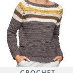 Free Crochet Sweater Pattern Für Frauen