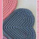 Free Heart Coaster Crochet Pattern