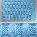 Free Knitting Pattern for Easy Jordan Baby Blanket - This easy blanket is knit w... - Best Knitting Pattern