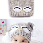 Free Knitting Pattern for I'm a Hoot Hat - This pattern for an owl baby hat come...