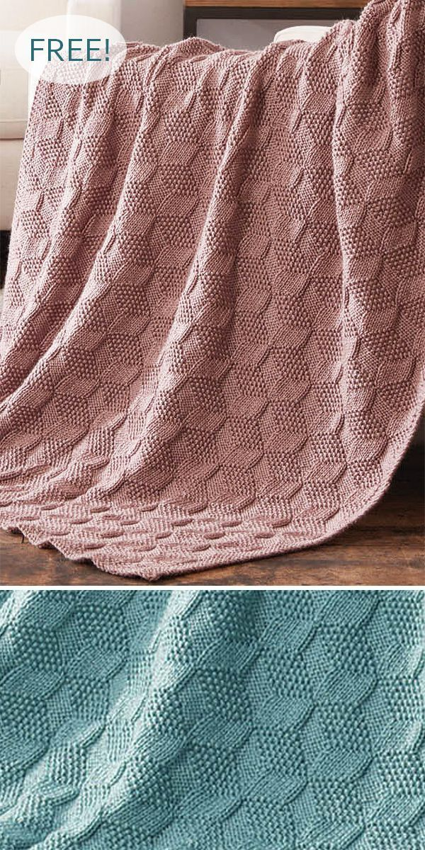 Free Knitting Pattern for Stack Up Blocks Blanket – Afghan Knitting in a