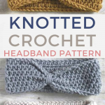 Free Knotted Headband Crochet Pattern - Rescued Paw Designs