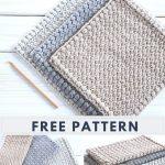 Free crochet pattern. Creek Pebbles DIY Dishcloth Pattern - Crochet . Life