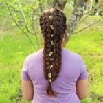 French braids tutorial -