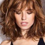 Fresh Medium Length Curly Hairstyles 2018 #length #bobby hair #women #hair ,  #bobby #Curly #...
