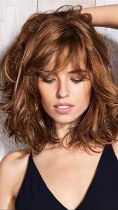 Fresh Medium Length Curly Hairstyles 2018 #length #bobby hair #women #hair ,  #bobby #Curly #…