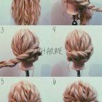Frische Braid Frisuren für langes Haar mit Schritt #weben #selve #hai …