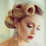 Frisuren 50er Jahre Stil #Frisuren #50er #Jahre #Stil #WeddingHair