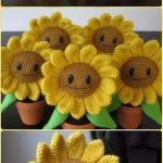 Fun Crochet Amigurumi Plant Free Patterns