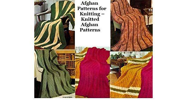 Gestrickte afghanische Muster sind die ausgezeichnete Wahl für Anfänger