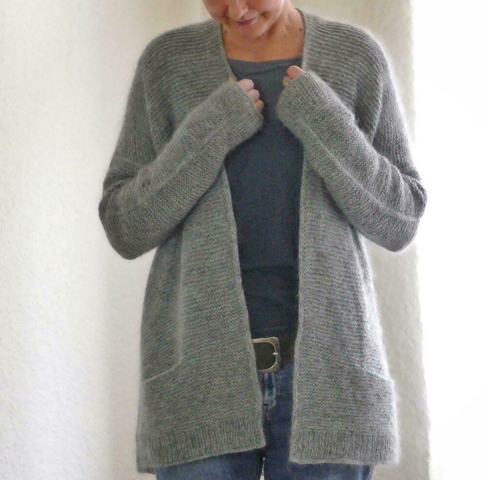 Girlfriends Cardigan Anke Knitting pattern by ANKESTRiCK