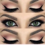 Gorgeous nude and black eye makeup for green eyes - #black #eye #eyes #Gorgeous ...